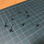 DOHITOMI (土肥富)レンジクロスフックSでキャロ・スプリット用ジグヘッドを作成