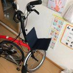 折り畳み自転車ブロンプトンのフロントキャリアを自作してみた。ダイソー製品多数。